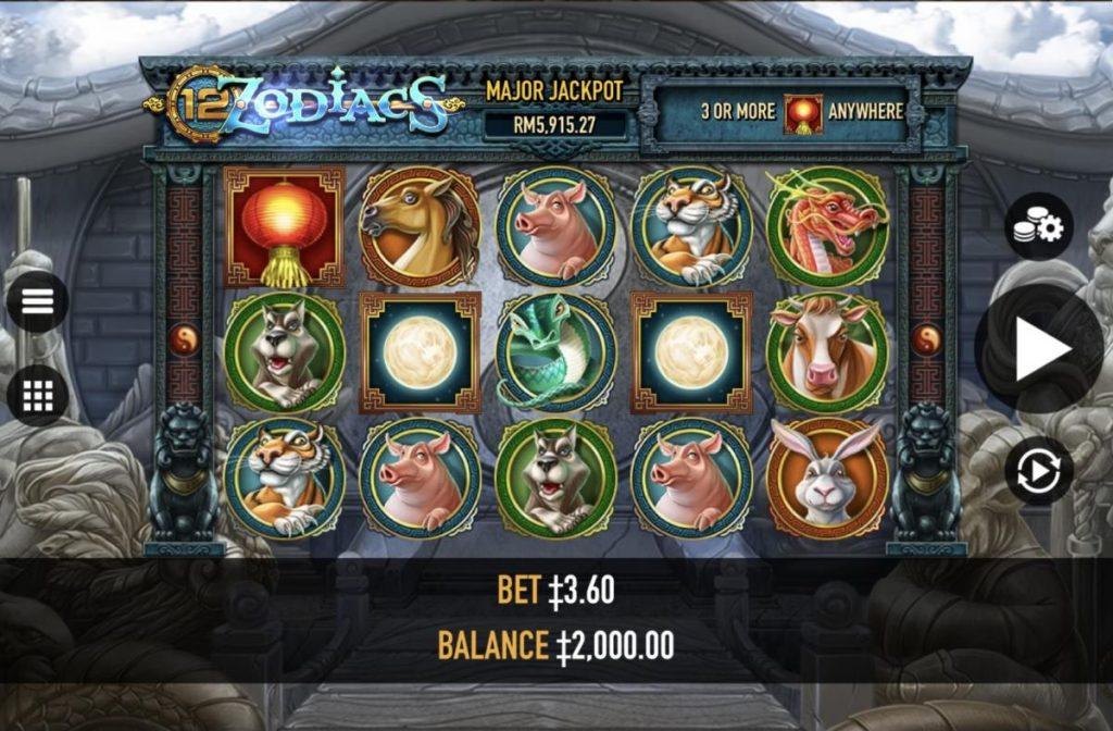 12 Zodiacs เกมสล็อต