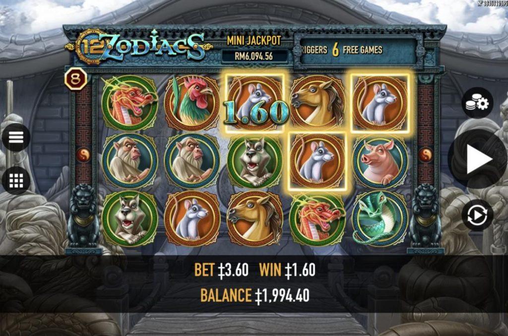 12 Zodiacs สล็อตทำเงิน