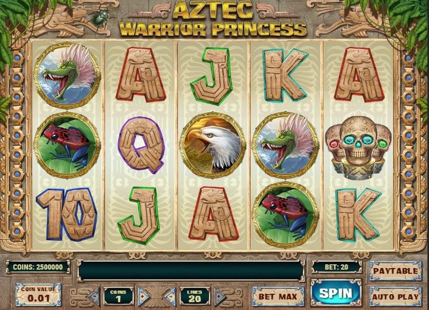 Aztec Warrior Princess สล็อตออนไลน์